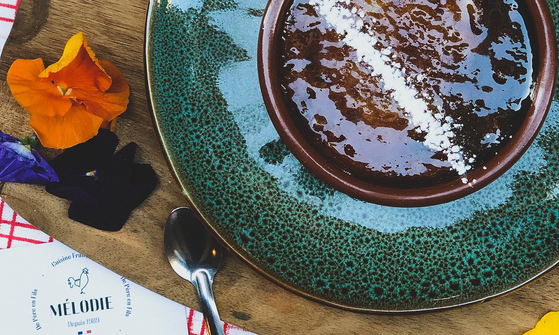 Crème brulée - restaurant mélodie bordeaux